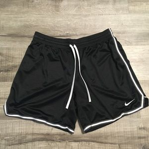 Nike women's mesh athletic shorts. Large